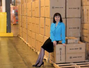 Screenshot:  Linda Bi, President, Chicago Expert Importers