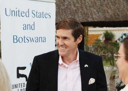 U.S Ambassador to Botswana, Earl Miller