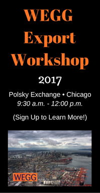 Join us for more WEGG Export Workshops in 2017!
