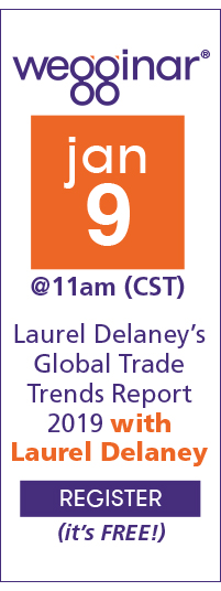 Laurel Delaney's Global Trade Trends Report 2019